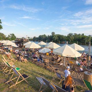 ZaZoo Beach Bar – ein Strand in der Stadt