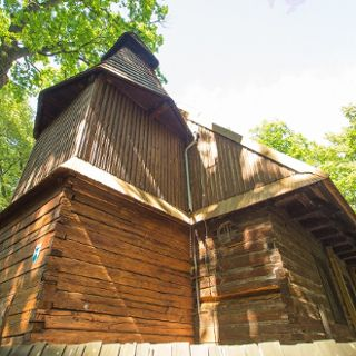 A wooden church in Szczytnicki Park