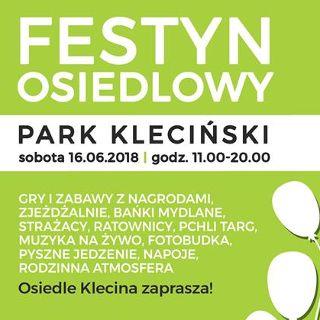 Festyn Osiedlowy w parku Klecińskim