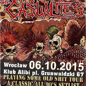The Casualties w klubie Alibi