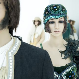 Film costumes from CeTA collection at Four Domes' Pavilion