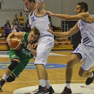 Koszykówka mężczyzn: WKS Śląsk Wrocław vs. Siarka Tarnobrzeg