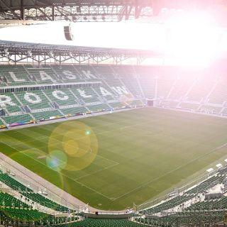 Besichtigung des Stadions Wrocław
