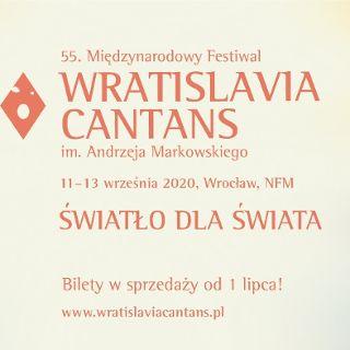 55. Międzynarodowy Festiwal Wratislavia Cantans