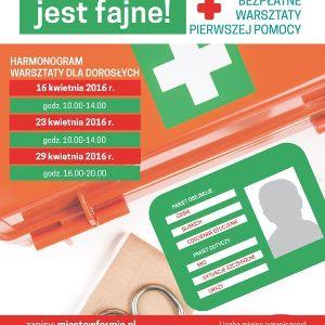 Bezpłatne warsztaty pierwszej pomocy