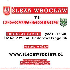 Ślęza Wrocław kontra Pszczółka AZS Lublin
