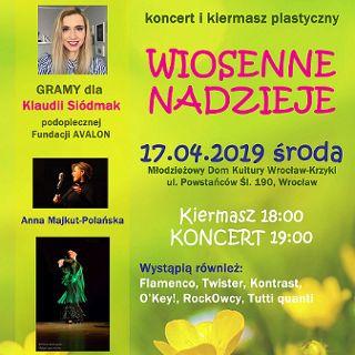 Wiosenne nadzieje: Koncert na rzecz Klaudii Siódmak